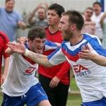 Thrapston H (22) - Alfie Celebrates first goal 620x250