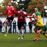 Barwell FC v AFC Rushden & Diamonds - The Emirates FA Cup 4th Qualifying round 24/10/2015