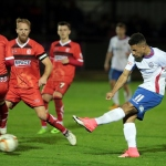 AFC Rushden & Diamonds v Alfreton Town - The Emirates FA Cup 2nd Qualifying round replay 19/09/2017