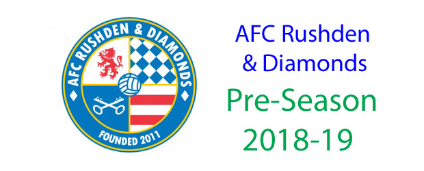 Official home of afc rushden and diamonds one fan one vote one rushden higham united v afc rushden diamonds saturday july 21st pre season fixture malvernweather Image collections