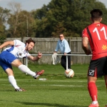 AFC Rushden & Diamonds v Aylesbury FCr. Evo-Stik Southern Football League Division One Central. 19/09/2015      ©Media Image Ltd. FA Accredited. Premier League Licence No: PL14/15/P4864 Football League Licence No: FLGE14/15/P4864 Football Conference L